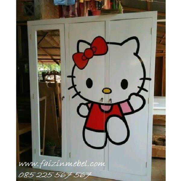 Lemari-Pakaian-Anak-Hello-Kitty